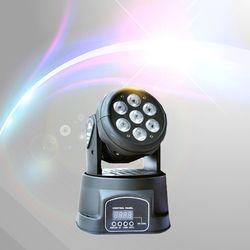 Alta Qualidade LED Mini Moving Head Wash Luz 7X12 w RGBW Moving Heads 14 Canais DMX DJ Discoteca festa de Iluminação de Palco de Concertos