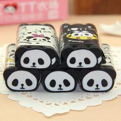 Милый каваи мультфильм панда резиновые ластики прекрасный школьный карандаш ластик для детей подарок школьные офисные канцелярские товар...