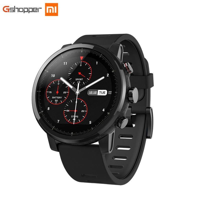 Xiaomi HUAMI AMAZFIT Strato Sport Uhr 2 Bluetooth GPS 512 mb/4 gb 11 Arten von Sport Modi 5ATM wasserdicht für Android iOS