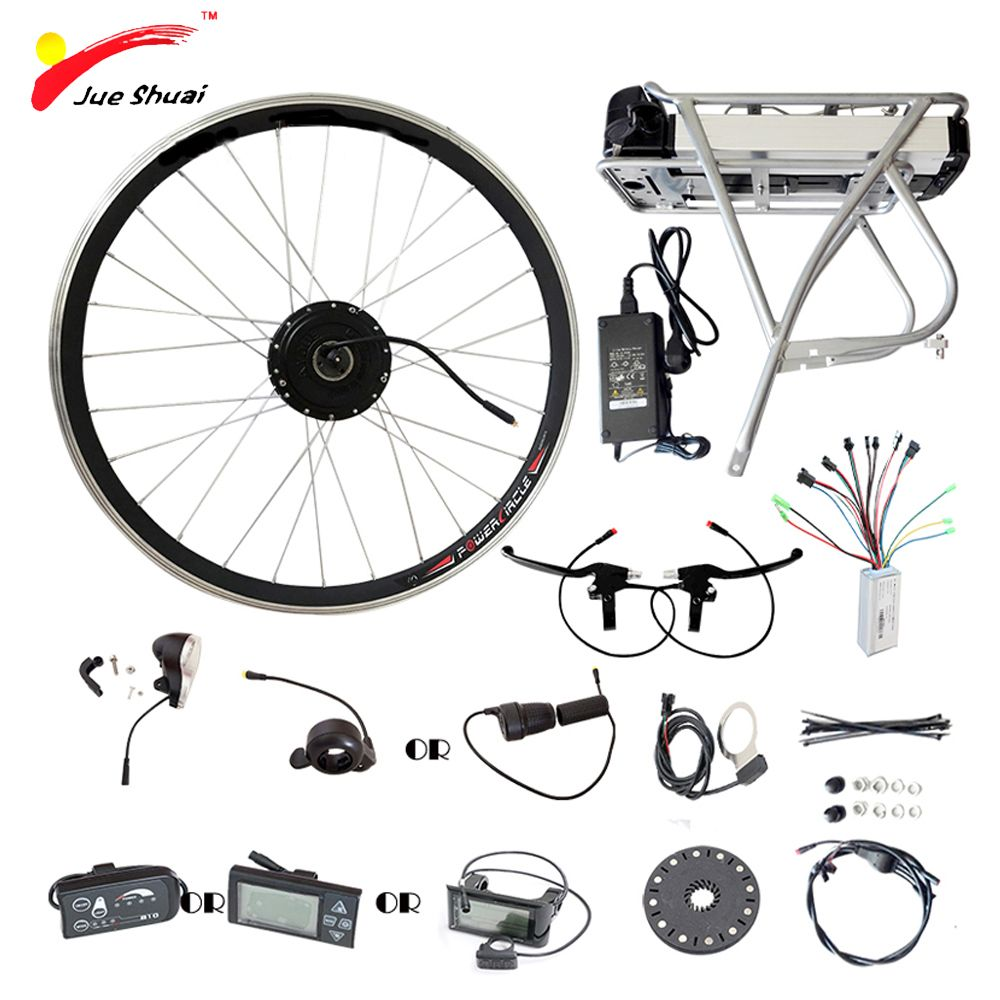 250W 350W 500W Electric Bike Wheel Motor 36V 12AH Battery Display Controller Ebike Electric Bike Bicycle Kit elektrikli bisiklet