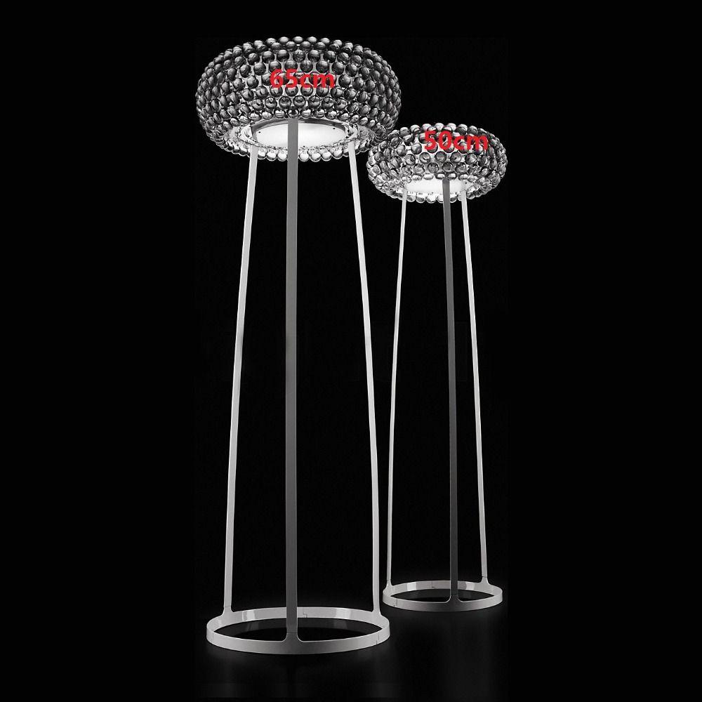 50cm/19.68'' Modern Foscarini Caboche Floor Lamp Acrylic Decorative Floor Lamp Bedroom lamparas colgantes 110-240V floor light