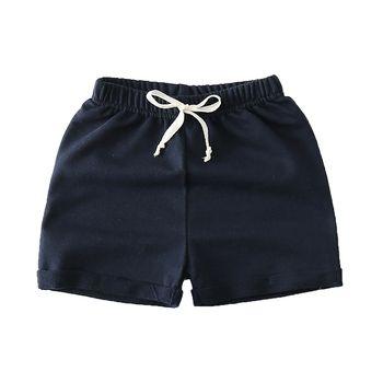 Garçons filles coloré shorts d'été de mode coton pantalon garçons plage shorts 2-7 ans pantalon de chilren