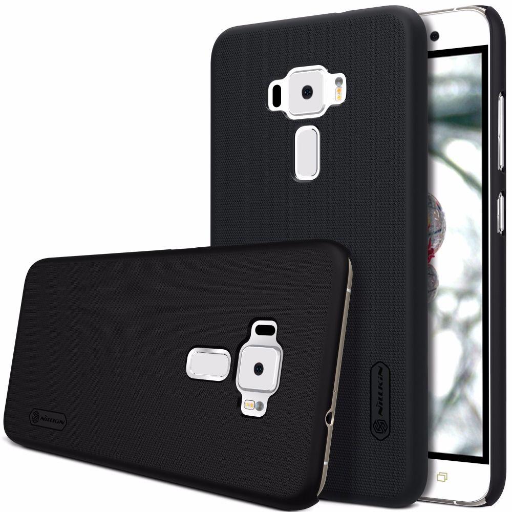 Asus Zenfone 3 ZE552KL case Zenfone 3 ZE520KL case NILLKIN Super Frosted Shield matte hard back cover +free screen protector