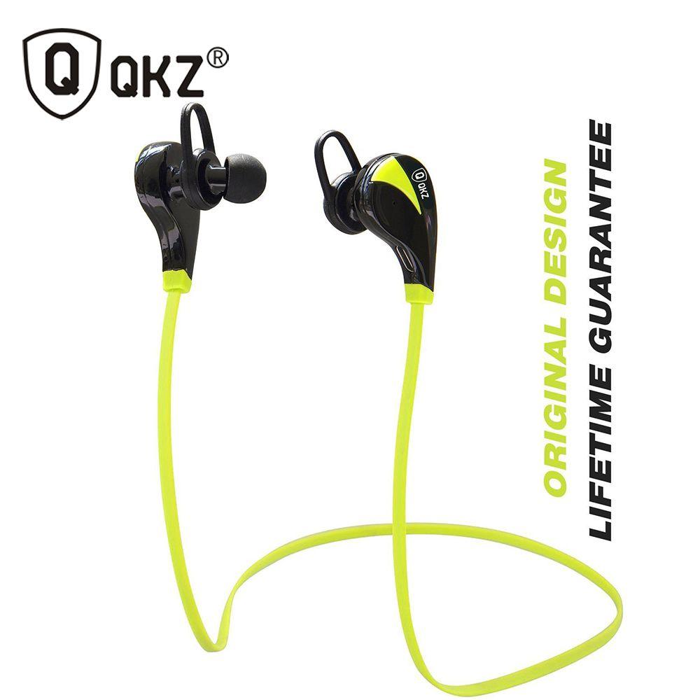 QKZ G6 Bluetooth 4.0 Sport Earphone Hand Free Wireless Bluetooth <font><b>Headset</b></font> Earphone Sports In-ear Bluetooth Earphone