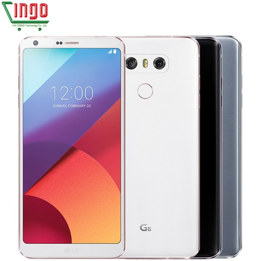 Original LG G6 4GB RAM 32GB ROM Dual Rear Cameras Quad-core 5.7