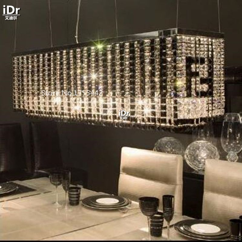 LED crystal lamp lighting creative flowers living room bedroom restaurant lights crystal lamps modern Fendi Chandeliers EET-008