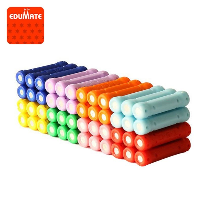 50/100/200pcs Educational Magnetic Stick Toy For Kids Magnet Building Blocks Toys Accessories Designer Magnetic Construction Toy