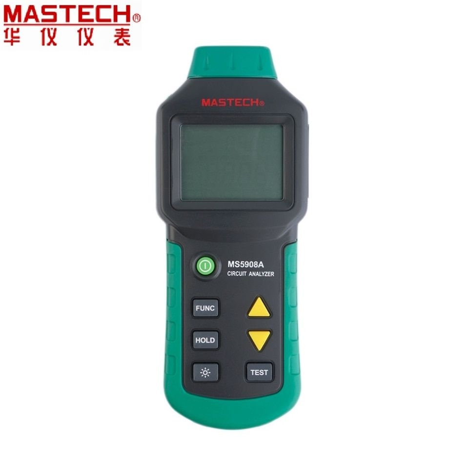 EU plug MS5908B MS5908C A RMS Circuit Analyzer Tester Compared w/ IDEAL Sure Test Socket Tester 110V/220V RCD GFCI Sockets Test