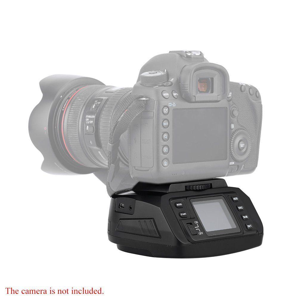 Automatic Tripod Ballhead AD-10 Panoramic Head Electronic Camera 360 Degree Tripod Heads for Canon/ Nikon/ Sony/Pentax Camera