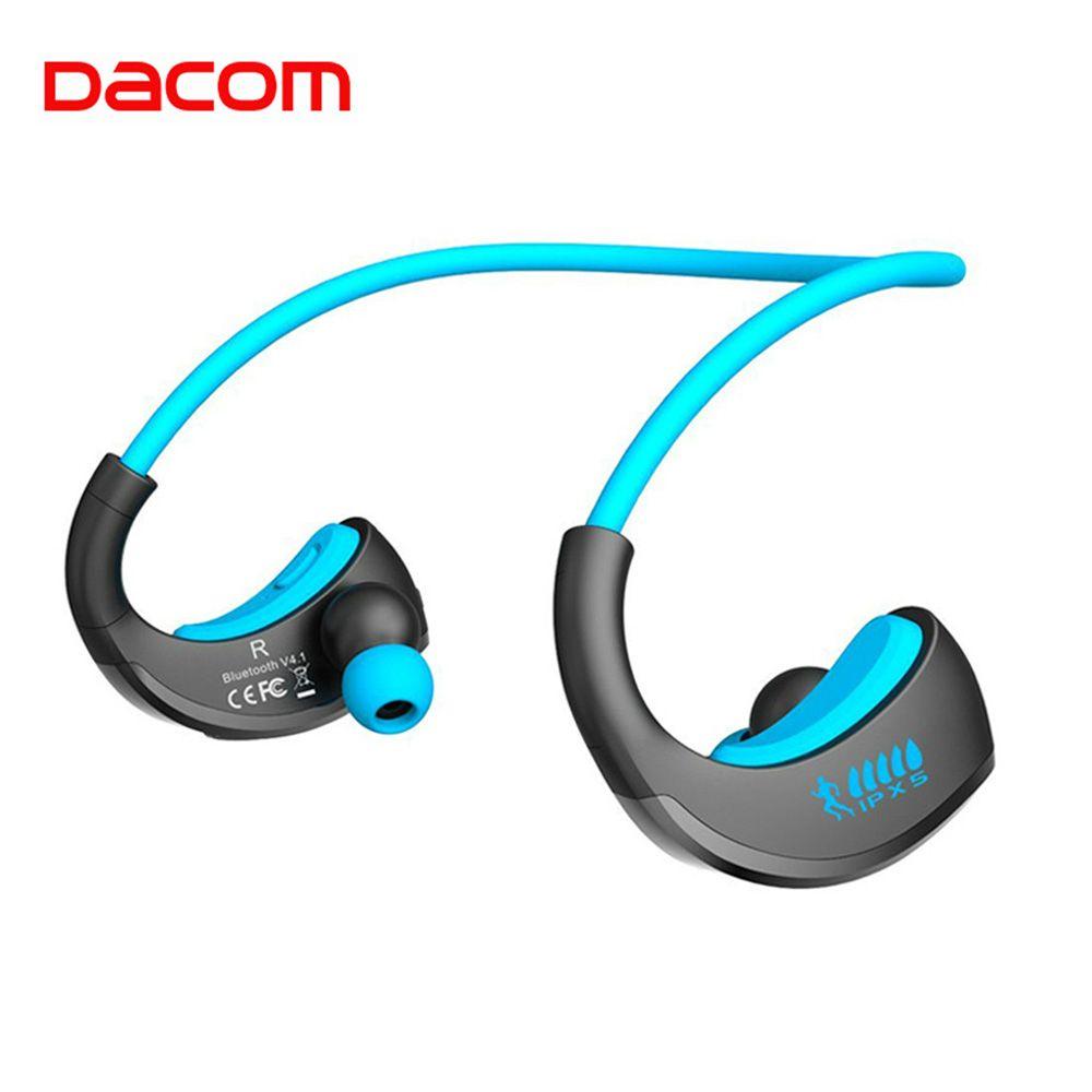 Dacom ARMOR Waterproof Running Sports Wireless Headphones Bloototh Bluetooth Earphones Headset Ear Phones with Handsfree Mic