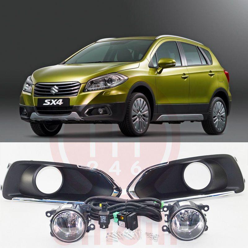 OEM Brouillard Lampe lumière Kit pour Suzuki SX4 S-Croix 2013-2016