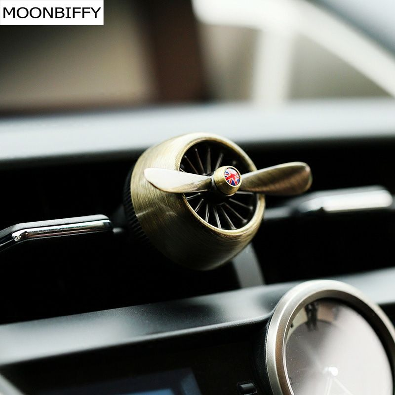 MOONBIFFY Air force 2 creative car outlet vent clip air freshener perfume fragrance scent sweet smell aromatic cologne bouquet