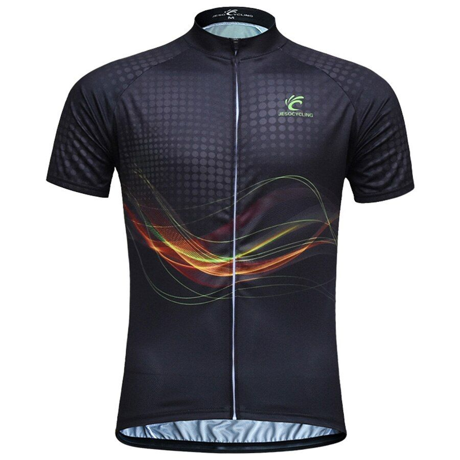JESOCYCLING Hommes Cyclisme Jersey VTT Vélo Jersey maillot ciclismo Vélo Vêtements Usine Directement Vente Bike Wear camisa ciclismo
