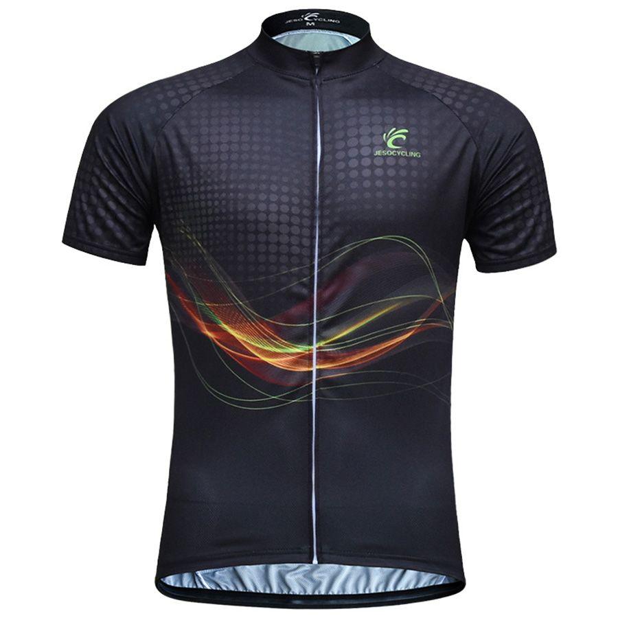 JESOCYCLING hommes cyclisme maillot vtt vélo maillot ciclismo cyclisme vêtements usine directement vente vêtements de vélo camisa ciclismo