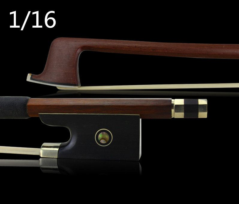 High quality violin bow Size 1/16 violino Red sandal wood Bow Horse hair violin accessory bow accessories para violino