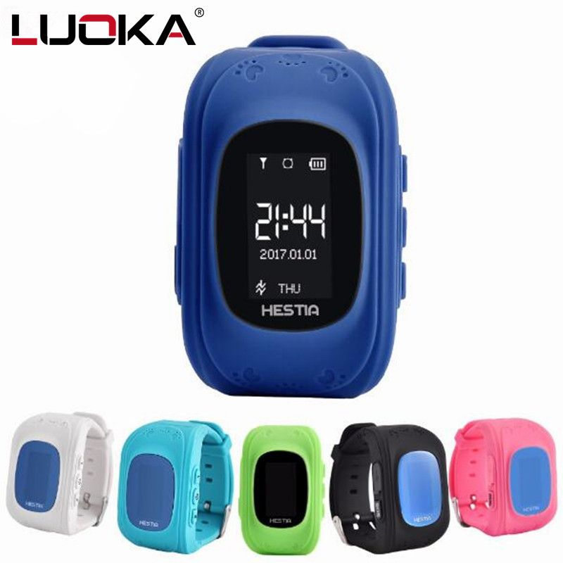 LUOKA HOT Q50 Smart watch Children Kid Wristwatch GSM GPRS GPS Locator Tracker Anti-Lost Smartwatch Child Guard for iOS Android