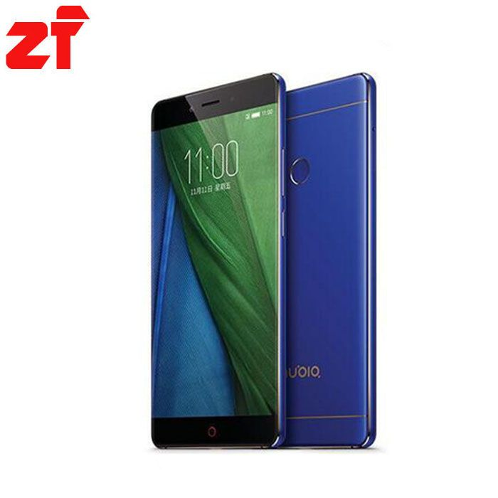 ZTE Nubia Z11 NX531J Sans Frontières 4 GB RAM 64 GB ROM Mobile Téléphone Snapdragon 820 Quad core 16.0MP D'empreintes Digitales