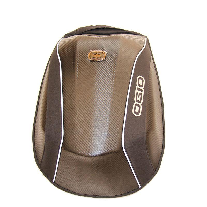OGIO Mach 5 carbon fiber mach 3 fashion Powerful storage travel Helmet Pad shoo Motorcycle motocross riding racing bag backpack