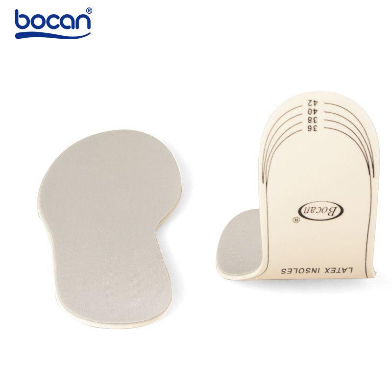 Bocan sudor respirable absorbente plantillas plantillas de absorción de choque plantillas de látex para hombres y mujeres del zapato 6006