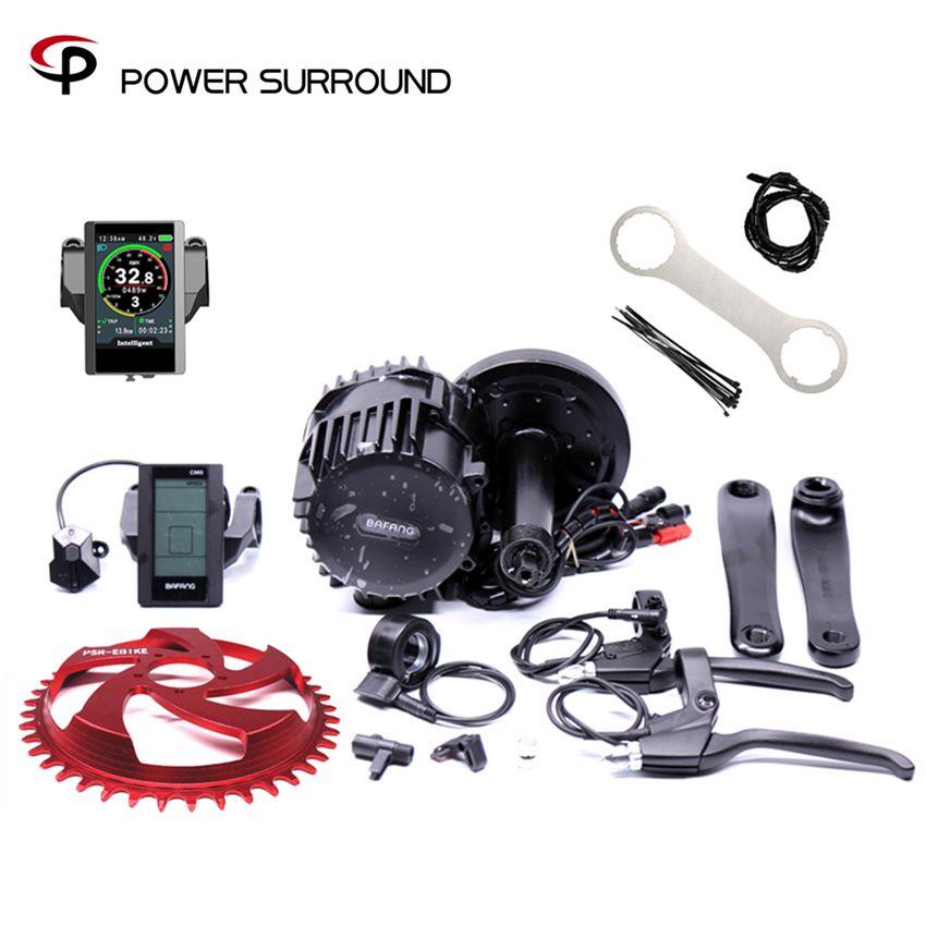 Auf bafang/8FUN BBS03 BBSHD 48 v 1000 watt Ebike Elektrische fahrrad Motor 8fun mitte antrieb elektrische bike umwandlung kit