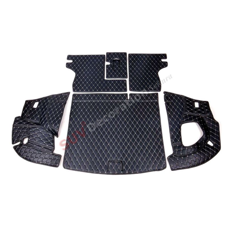 Accessories New for Jeep Compass Second Generation 2017 2018   Leather  Interior Rear Boot Cargo Trunk Mats Pad  Accessories