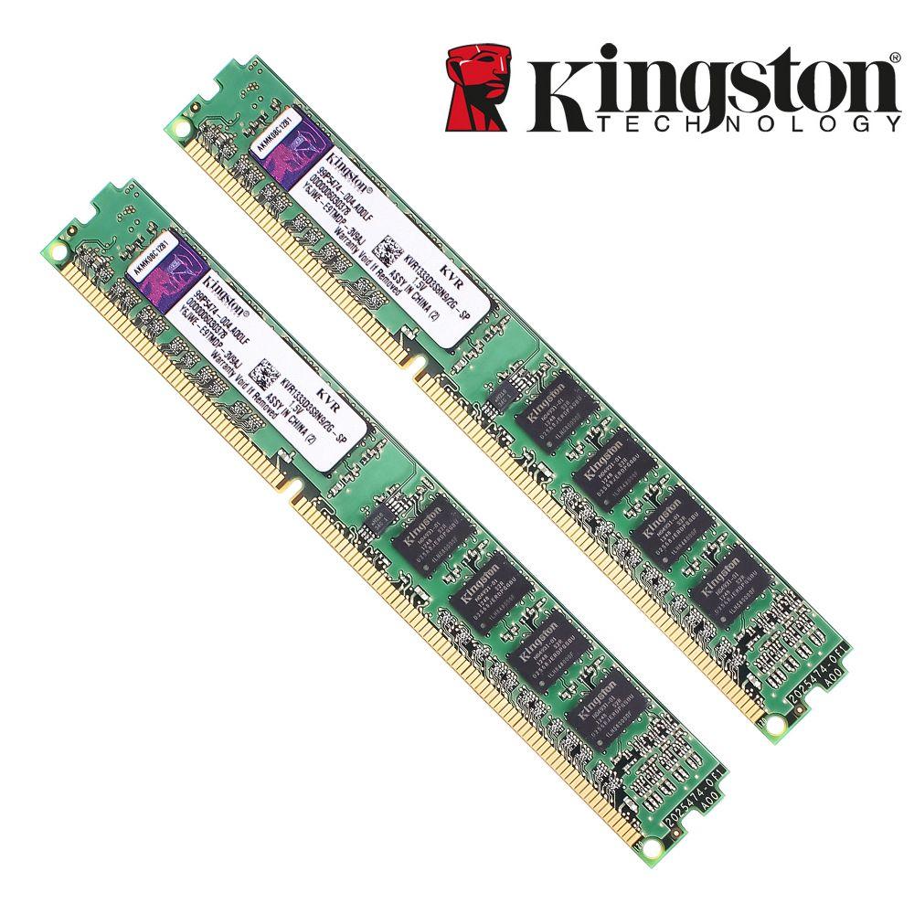Kingston Original RAM mémoire ddr3 4 gb 2 gb DDR 3 8 gb PC3-10600 PC3-12800 DDR 3 1333 mhz 1600 mhz pour bureau