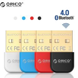 Orico BTA adaptador inalámbrico Bluetooth USB Bluetooth 4.0 dongle música receptor de sonido adaptador Bluetooth transmisor para ordenador