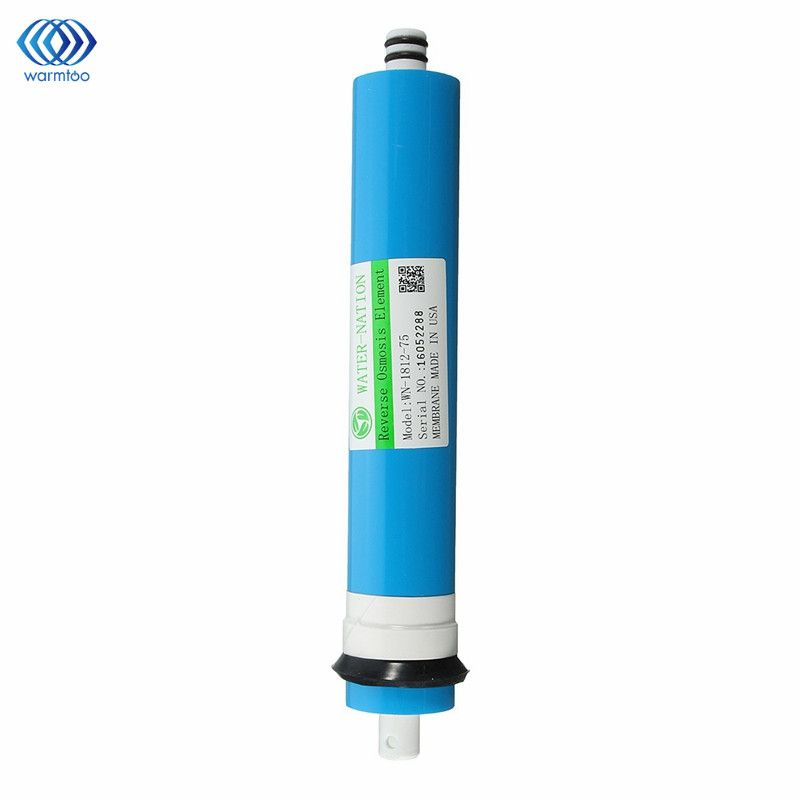 Home 75 GPD RO Membrane Reverse Osmosis Replacement Water System Filter Purification Water Filtration Reduce Bacteria Kitchen