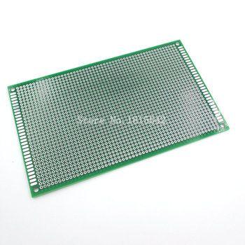 9x15 cm Universal Double Side Fiber De Verre Vert PCB Trous Pitch Standard2.54mm Soudure Planche À Pain 9*15 cm pain Conseil Prototype