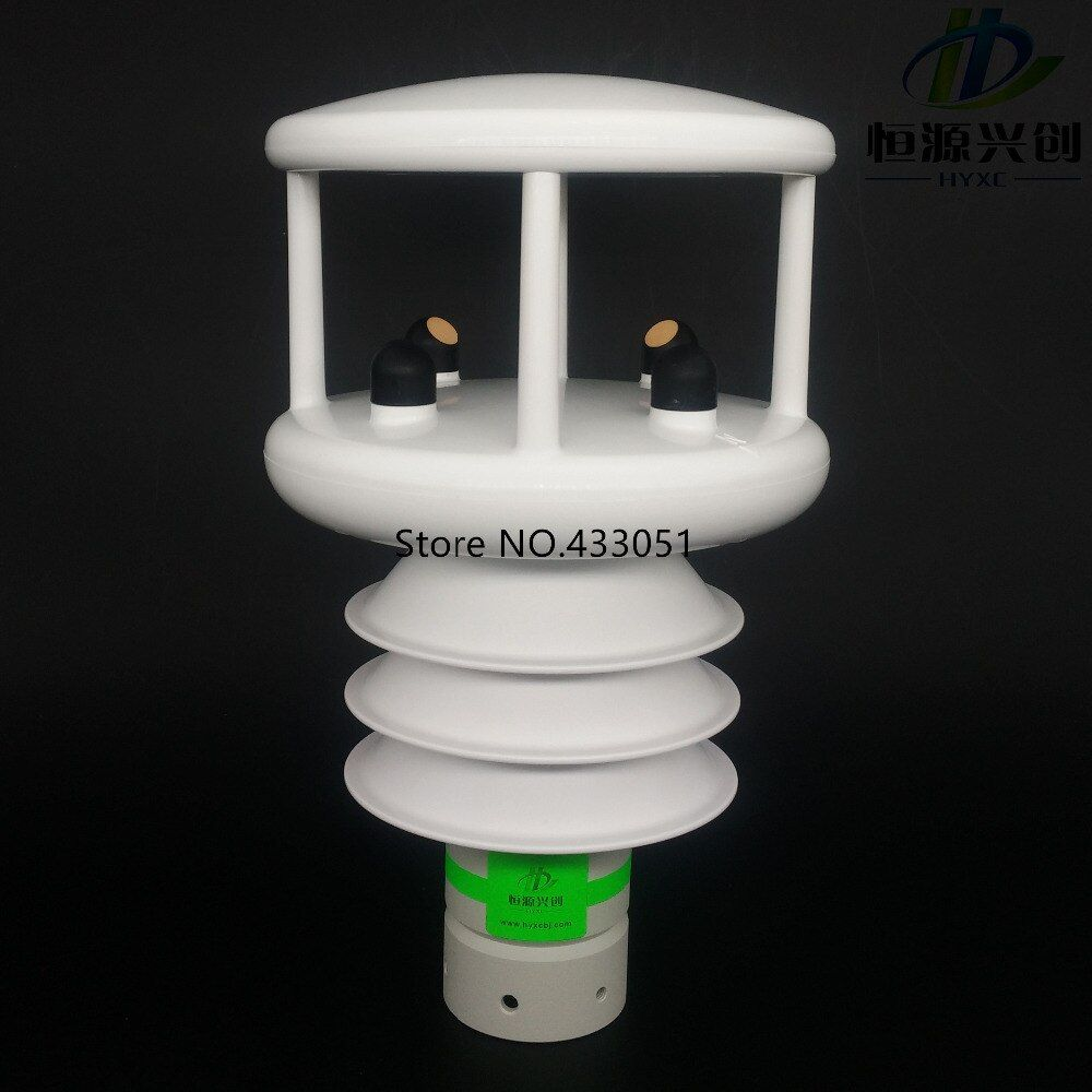 Ultrasonic wind speed wind direction meter/Temperature/Humidity/Air pressure/Solar illuminance/Radiation/Rainfall sensors