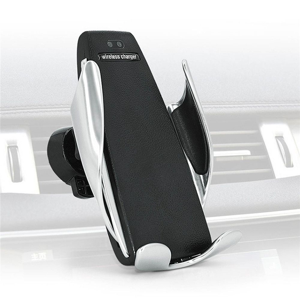 Automatic Clamping Wireless Car Charger For iphone Android Air Vent Phone Holder 360 Degree Rotation Charging Mount Bracket