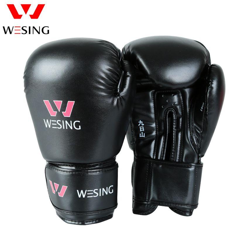Kick Boxhandschuhe Frauen MMA Muay Thai Kampf Handschuh luva de box Pro boxhandschuhe 8 10 12 14 16 unzen
