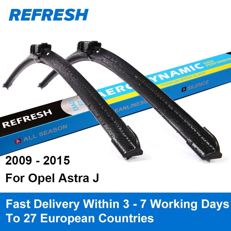 Refresh Wiper Blades for Opel Astra J 27