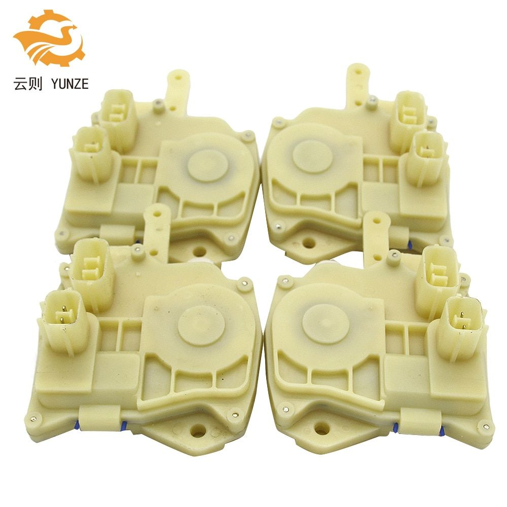 4PCS CENTRAL DOOR LOCK ACTUATOR FRONT REAR LEFT RIGHT FOR HONDA ACCORD BRAND NEW