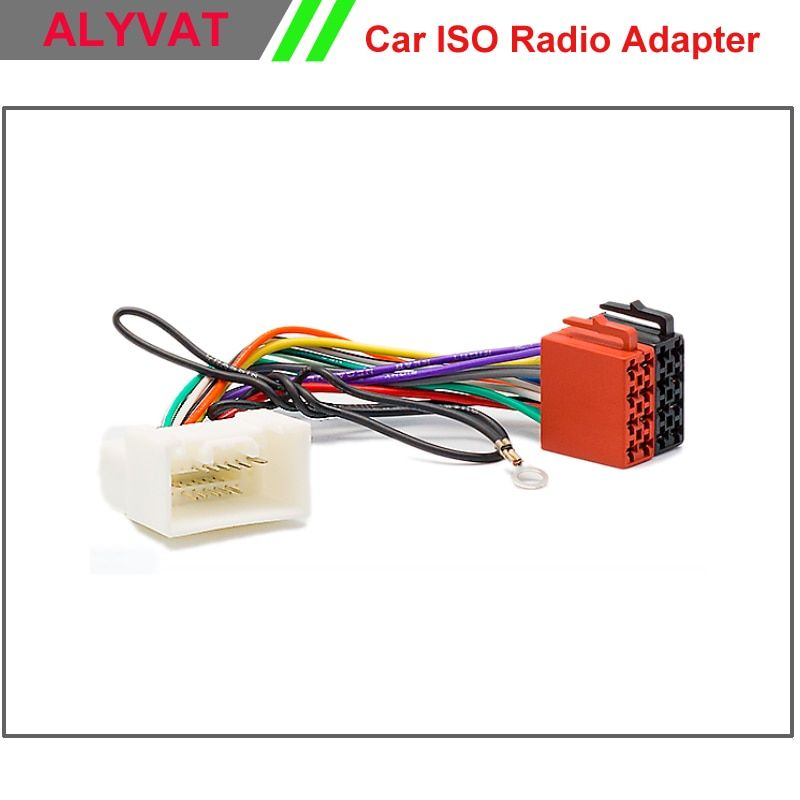 Car ISO Stereo Wiring Harness For Mitsubishi 2007 Onwards Adapter Connector Auto Radio Adaptor Lead Loom Plug Wire Cable