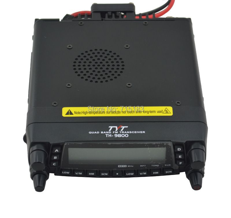 TYT TH9800 TH-9800 Mobile Transceiver Automotive Radio Station 29/50/144/430MHz Quad bands 50W Output Car Radio Station Repeater