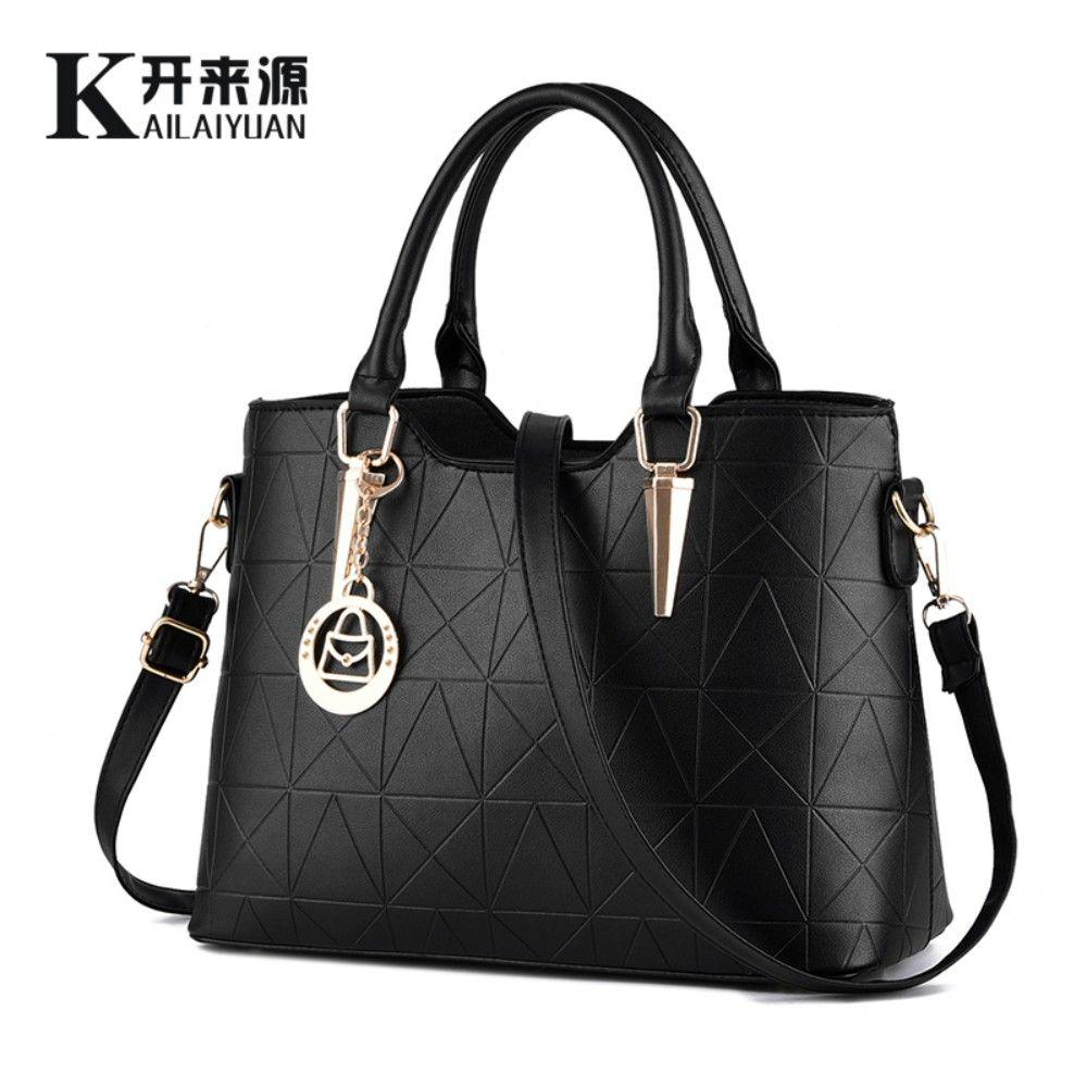 SNBS 100% Genuine leather Women handbags 2018 New sweet lady temperament female bag fashion handbags Shoulder Messenger Handbag