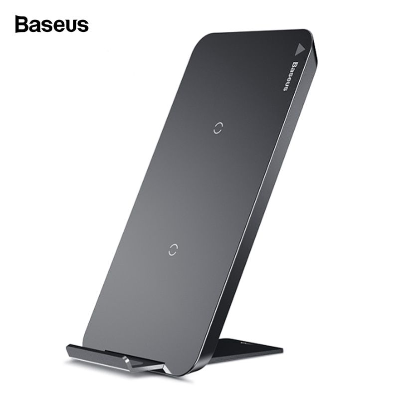 Baseus Qi Wireless Charger For iPhone X XS Max XR Samsung S9 S8 Xiaomi Mix 3 2s Fast Wirless Wireless Charging Pad Dock Station