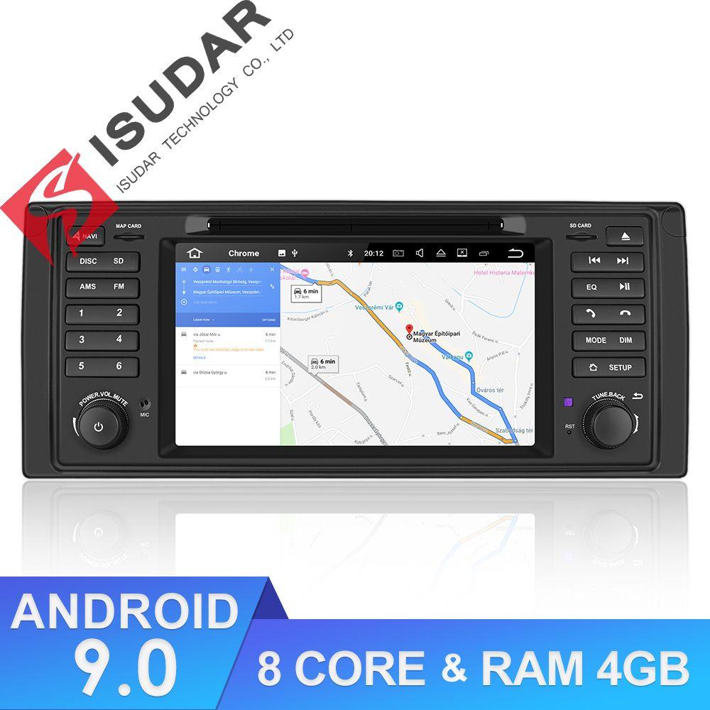 Isudar 1 Din Android 9 Auto Radio Für BMW/E39/X5/E53 Octa Core RAM 4GB ROM 64GB GPS Auto Multimedia Stereo System DSP DVD USB DVR