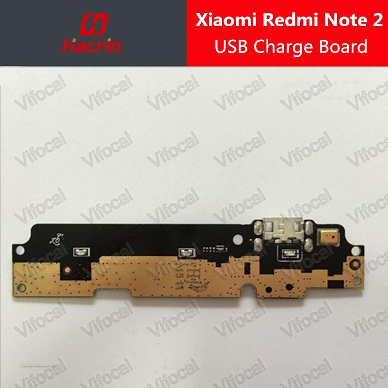 Hacrin Xiaomi Redmi Note 2 usb conseil + Microphone 100% Nouveau micro charge Remplacement Accessoire Pour Xiaomi Redmi Note 2 Premier 5.5