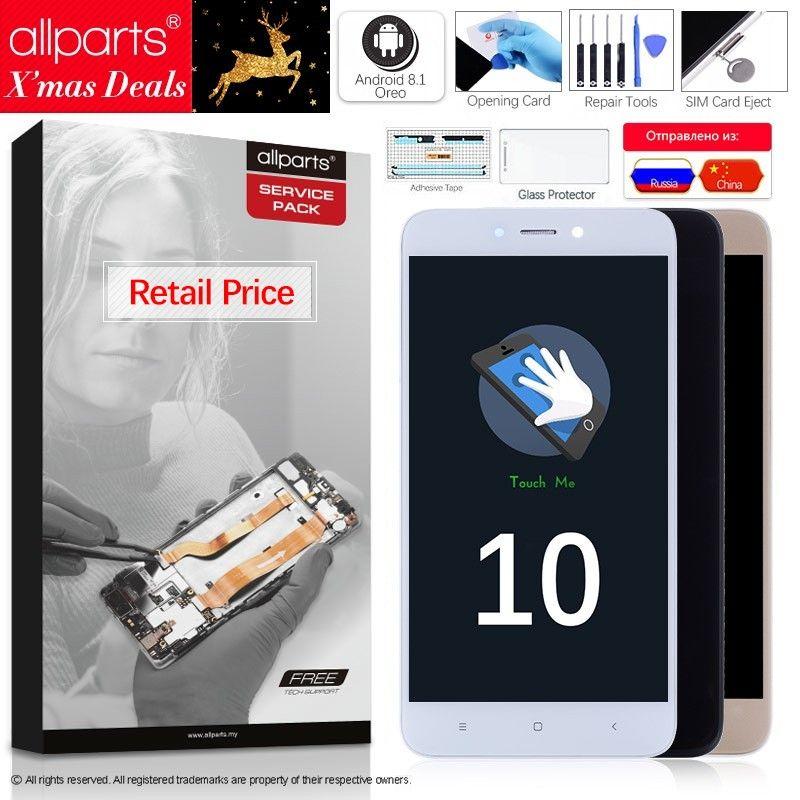 5.0 LCD D'origine Pour XIAOMI Redmi 4X LCD Écran Tactile avec Cadre D'affichage Pour XIAOMI Redmi 4X Pro Premier écran LCD de Remplacement