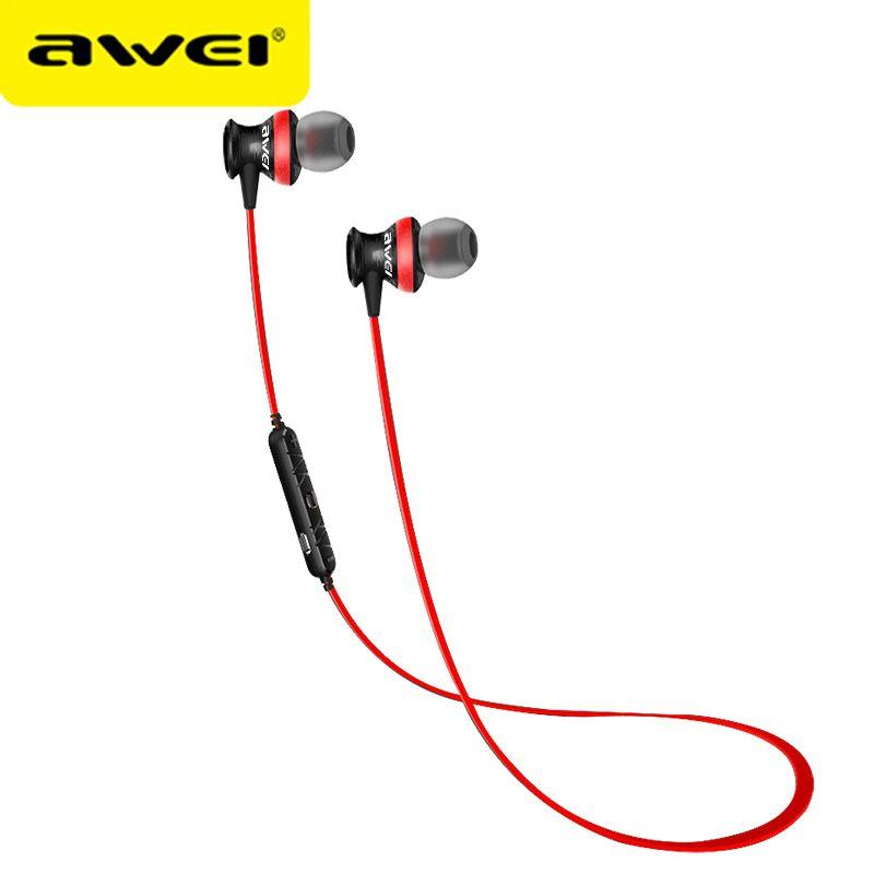 Awei A980BL Bluetooth écouteurs sans fil casque pour iPhone Xiaomi Sport casque avec micro stéréo Auriculares fone de ouvido