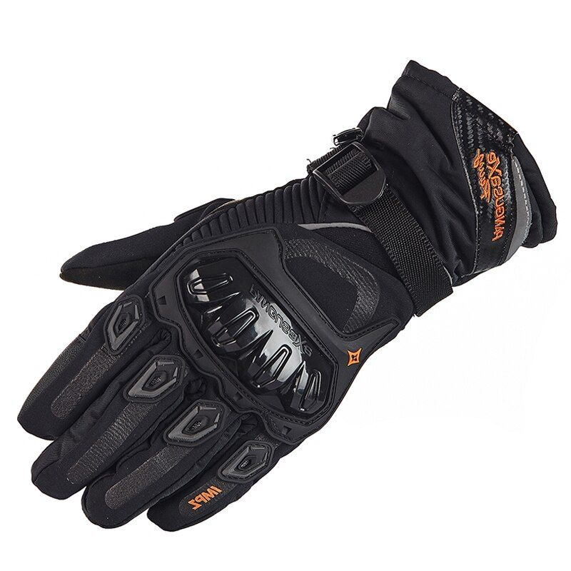 Motorcycle Gloves Man Touch Screen Winter <font><b>Warm</b></font> Waterproof Windproof Protective Gloves Guantes Moto Luvas Motosiklet Eldiveni