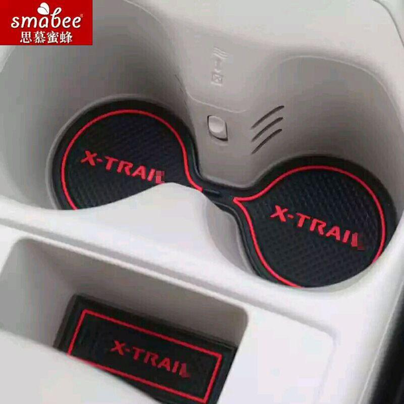 15 pièces/ensemble pour Nissan x-trail X Trail Xtrail T31 T32 2008-2015 accessoires de voiture 3D tapis antidérapant en caoutchouc tapis de porte intérieure Smabee