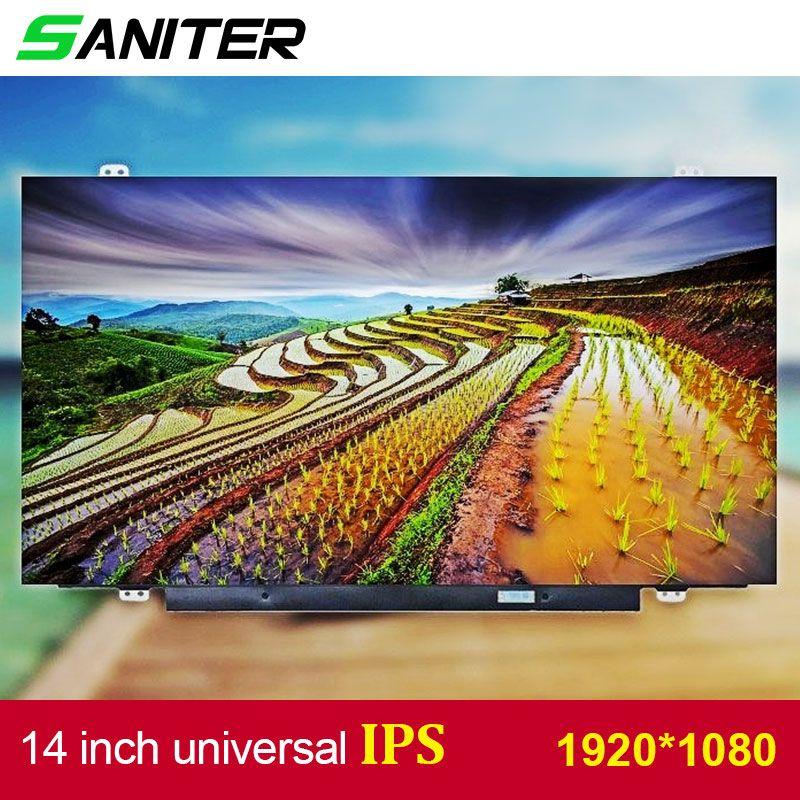 SANITER Apply to Lenovo T420 T430 screen high score B140HAN01.1 B140HAN01.2 B140HAN01.3 IPS 1920 * 1080 HD Laptop LCD Screen