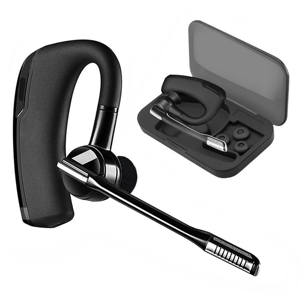 K6 Wireless Bluetooth Earphone Sports headphones Stereo Handsfree Business Bluetooth Headset with Mic for Iphone Android phone