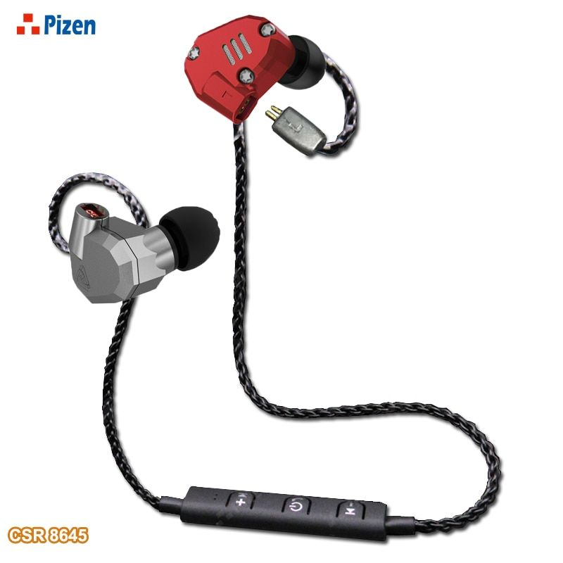 PIZEN BT66 CSR8645 Support aptx for kz zsr zs5 zs6 zst Bluetooth replace mmcx cable For shure SE535 for QKZ headphones cable