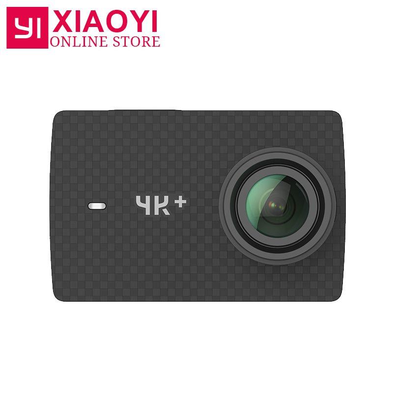 <font><b>Xiaoyi</b></font> YI 4K Plus Action Camera Ambarella H2 4K/60fps 12MP 155 Degree 2.19 RAW International Xiaomi YI 4K+ Sports Camera