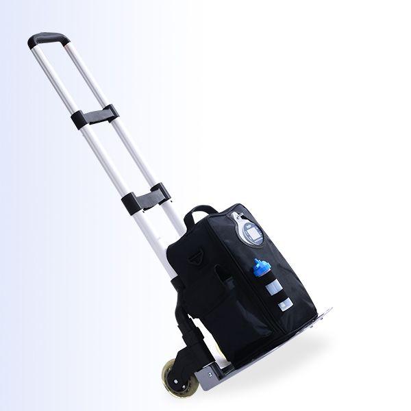 Neueste 4 stunden mini tragbare sauerstoffkonzentrator Lovego G2 mit Niedrigen Sauerstoff Alarm/fernbedienung für 1-5 liter sauerstofftherapie