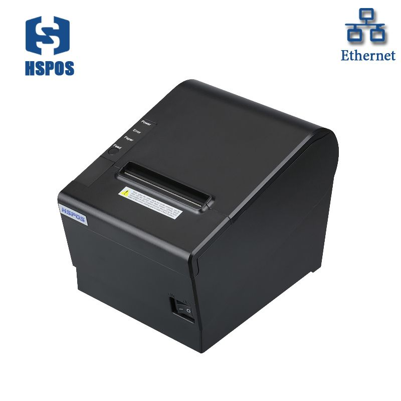 80mm thermal printer usb network receipt printer with cutter support OPOS dirver DHCP function POS ticket printing impresora